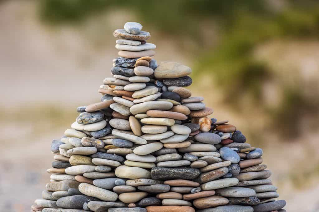 rebuilding rock tower