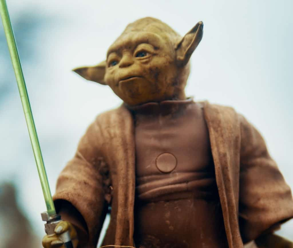 """Yoda says, """"Do or DO NOT, there is no try."""""""