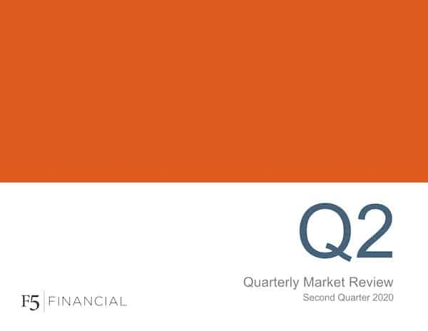 Cover for our Quarterly Market Review - Second Quarter 2020 report