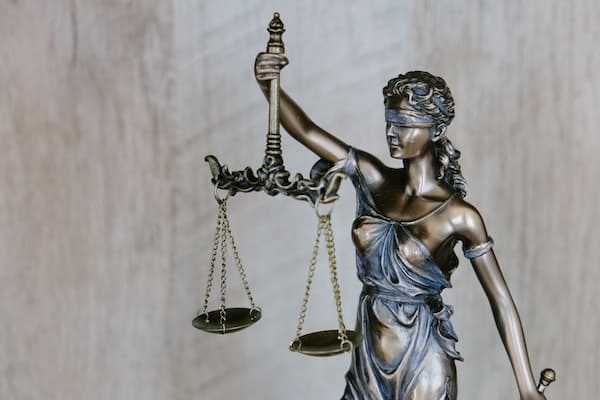 "Lady Justice representing concept of ""truth"""
