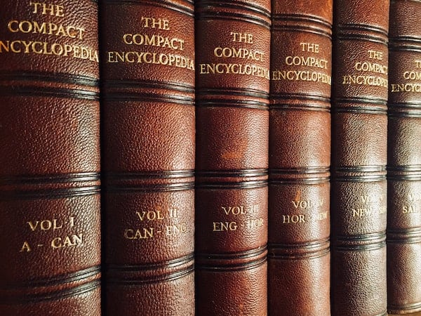 Encyclopedias filled with information