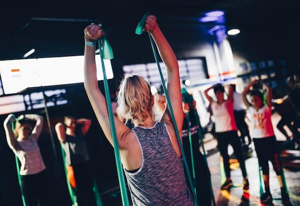 Resist with resistance bands