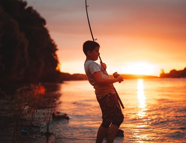Feeling confident while fishing
